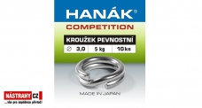 Micro ring spin Hanák 3 mm, 5 kg - 10 pcs
