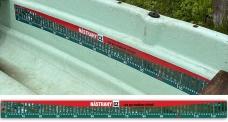Measuring label 125 cm RedBASS