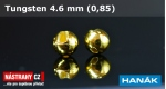 Wolfram head 4,6 - gold - 5 pcs