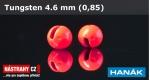 Wolfram head 4,6 - red - 5 pcs