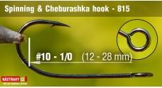 Spinning & Cheburashka hooks 815