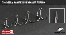 Treble hook KAMAKIRI ICHIKAWA TEFLON