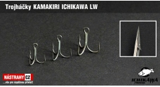 Treble hook KAMAKIRI ICHIKAWA TEFLON LW