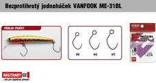 Barbless hook VANFOOK ME-31BL