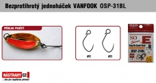 Barbless hook VANFOOK OSP-31BL