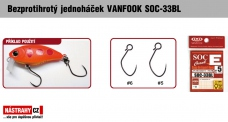 Barbless hook VANFOOK SOC-33BL