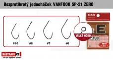 Barbless hook VANFOOK SP-21 ZERO