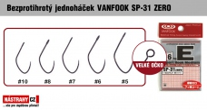 Barbless hook VANFOOK SP-31 ZERO