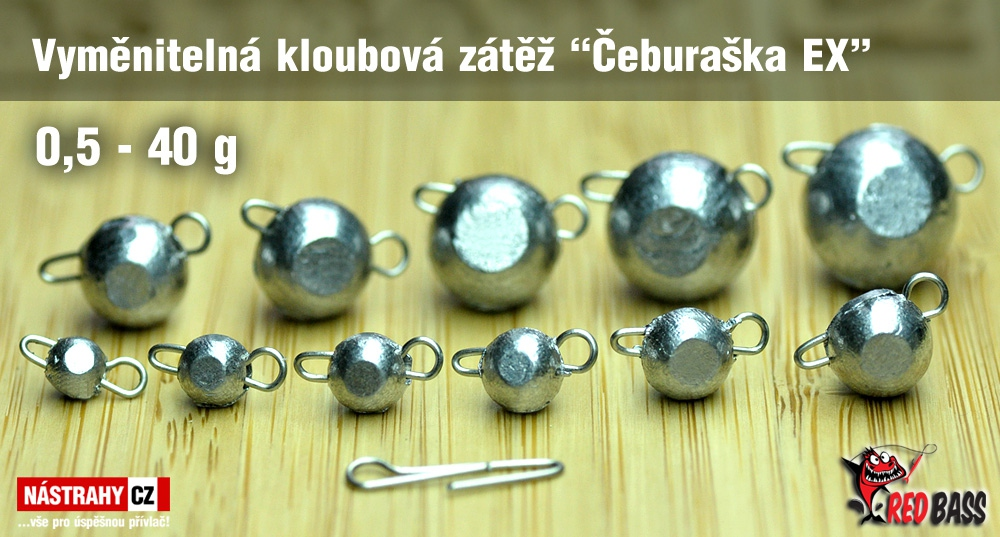 "Swivel jig head ""Cheburashka EX"" RedBASS 5 pcs"