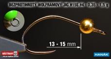 Wolfram BL jig H15S #4, 5ks