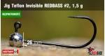 BL Jig Teflon Invisible #2 - 1,5 g, 5 pcs