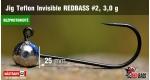 BL Jig Teflon Invisible #2 - 3,0 g, 5 pcs