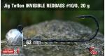 Jig Teflon Invisible #10/0 - 5 ks, 20 g +0.24 €