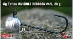 Jig Teflon Invisible REDBASS #4/0 - 5 pcs, 20 g +0.24 €
