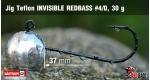 Jig Teflon Invisible REDBASS #4/0 - 5 pcs, 30 g +0.24 €