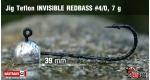 Jig Teflon Invisible REDBASS #4/0 - 5 pcs, 7 g