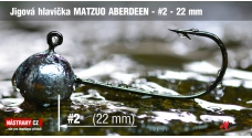 Jig head Matzuo Aberdeen #1 - 22 mm - 5 pcs