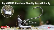 MATZUO Aberdeen Stand Up Jig #2 - 22 mm - 5 pcs