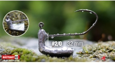 MATZUO Sickle Stand Up Jig #2/0 - 32 mm - 5 pcs