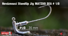 MATZUO SEA Stand Up Jig #1/0, 5 pcs