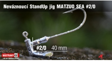 MATZUO SEA Stand Up Jig #2/0, 5 pcs