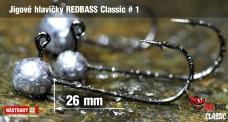 Jig REDBASS Classic #1 - 26 mm - 5 pcs