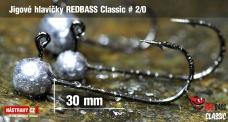 Jig REDBASS Classic #2/0 - 30 mm