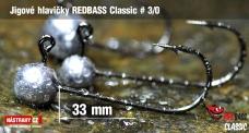 Jig REDBASS Classic #3/0 - 33 mm - 5 pcs