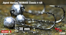 Jig REDBASS Classic #4/0 - 38 mm - 5 pcs
