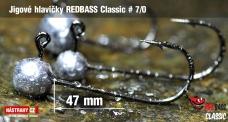 Jig REDBASS Classic #7/0 - 49 mm