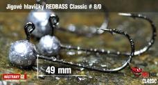 Jig REDBASS Classic #8/0 - 49 mm
