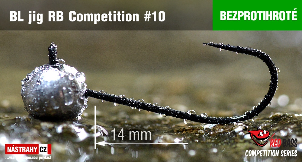 Barbless Jig RB Competition #10 - 14 mm - 5 pcs