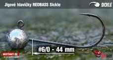 Jig REDBASS Sickle #6/0 - 44 mm