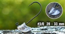 Jig REDBASS StandUp Pro Sickle #3/0, 28 - 33 mm, 5 pcs
