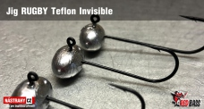 Jig Teflon Invisible RUGBY # 1, 5 pcs