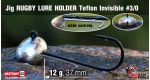 Jig Teflon RUGBY - Lure holder #3/0, 12 g, 5 pcs