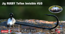 Jig Teflon Invisible RUGBY # 5/0, 5 pcs