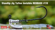 Stand Up Jig Teflon Invisible REDBASS # 7/0, 5 pcs