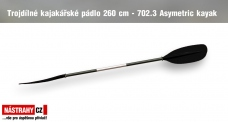 Three-piece Paddle 702.3 Asymetric 260 cm