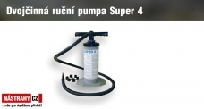 Double-action hand pump Super 4