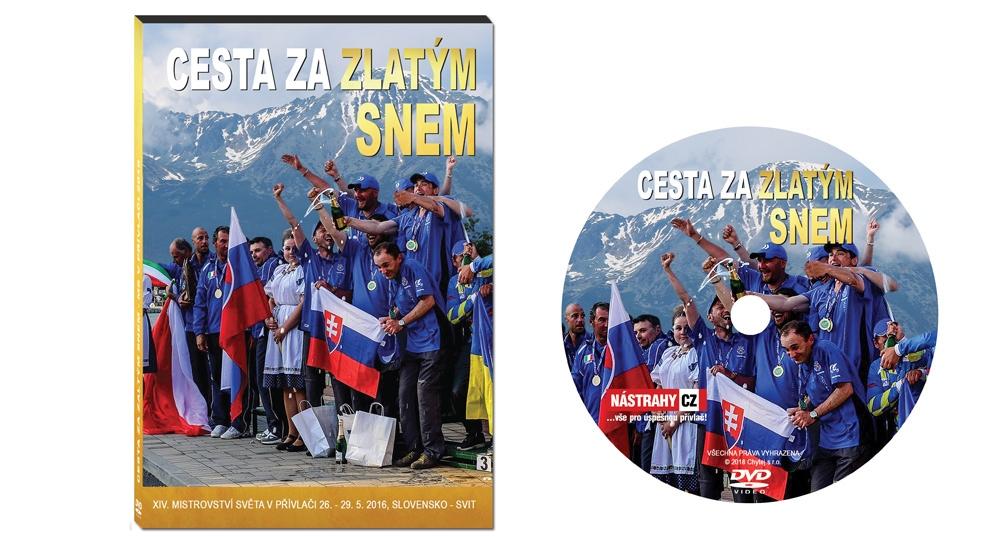 DVDCesta za zlatým snem - MS v přívlači, Slovensko 2016 - 110 minut
