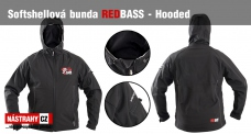 Softshell Jacket REDBASS Hooded