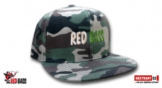 Snapback REDBASS Camo - Gift with purchase over 80,- EUR