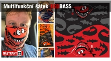 Multifunctional scarf REDBASS - Gift with purchase over 120,- EUR