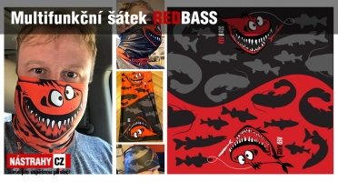 Multifunctional scarf REDBASS
