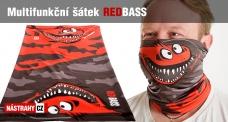 Multifunctional scarf REDBASS