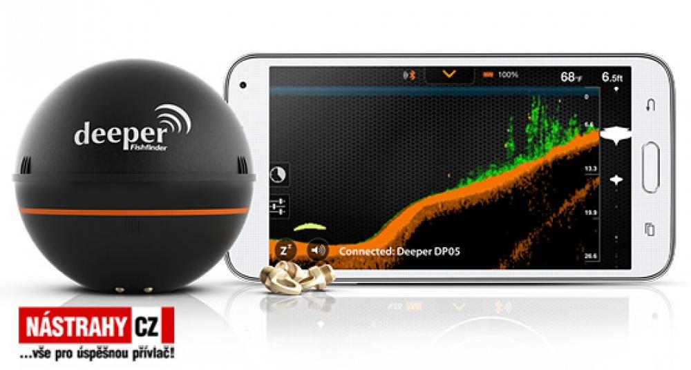 Echolot Deeper Fishfinder PRO - WiFi
