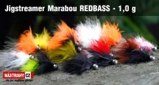 Jigstreamer Marabou REDBASS 1 g