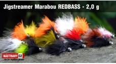 Jigstreamer Marabou REDBASS 2 g