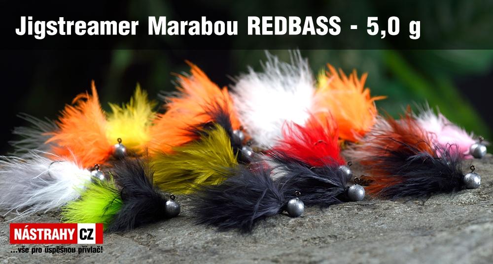 Jigstreamer Marabou REDBASS 5 g